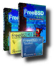 FreeBSD Bundle: FreeBSD, Handbook (VOL I and VOL II), and Toolkit!