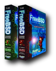 The FreeBSD Handbook Vol 1 and Vol 2