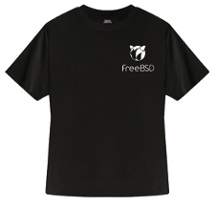 FreeBSD New Bobble Tshirt (Black)