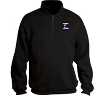 FreeBSD pullover zip up