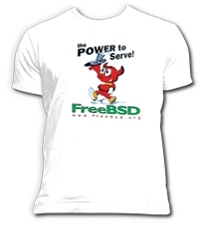 FreeBSD Power To Serve Tshirt