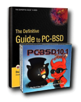 The Definitive Guide to PC-BSD and PC-BSD 9.1 DVD